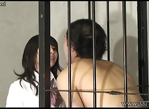 Japanese female domination Edged Game - make fun of and Denial