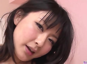 Megumi Haruka desires testicle tonic on face and tits after blowjob