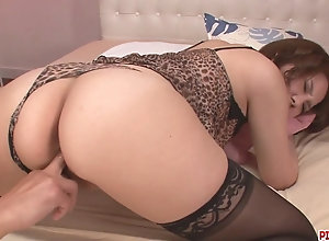 Gorgeous Yurika Momo In Stockings Fucked With orgy Toys