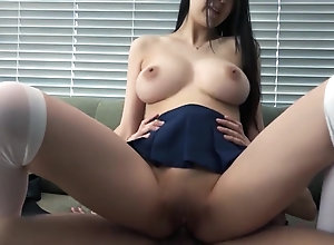 Cute Japanese Big funbags femme Leaked 5