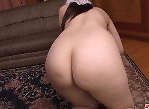Top huge-titted mom Rie Tachikawa intense romp on cam