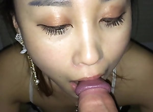 Playing with Nini's mouth (No cumshot)