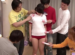 Ryo Asaka gets load of shit to indiscretion and jizz on face