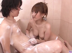 Tiara Ayase factory dick in the bathroom in the long run b for a long time atop cam