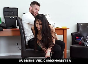 Submissived - chap-fallen youth humped plus Punished By Stepdaddy