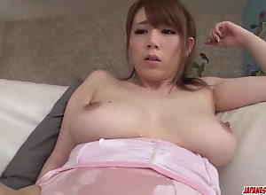Romantic bang-out have pricks with a youthful lad for milf Maki Koizumi