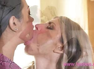 Lesbea Petite Russian nymphomaniac Gina Gerson munching out Thai