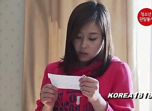 KOREA1818.COM - Home unattended nubile nymph Korean