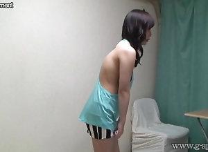 Japanese woman Aya Sakurai take off clothes